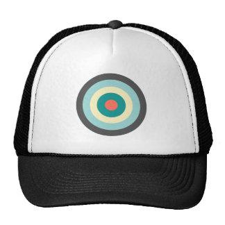 Grey Combination Bullseye Trucker Hat