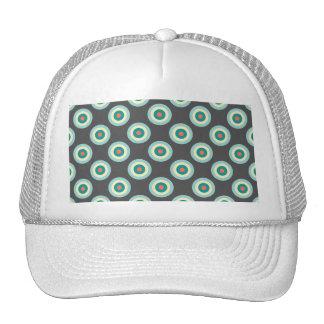 Grey Combination Circles Trucker Hat