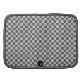 Grey Combination Classic Checkerboard Organizers