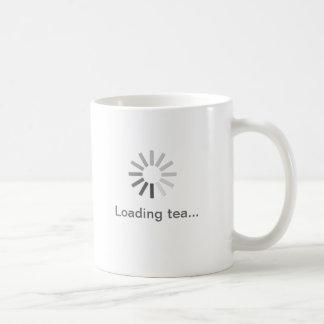 grey computer loading symbol mug