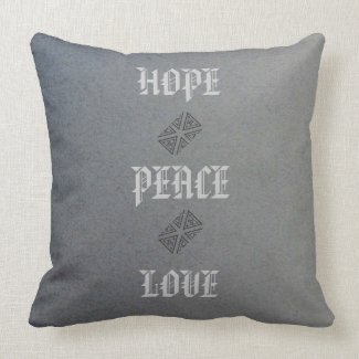 GREY COTTON GRADE A THROW PILLOW