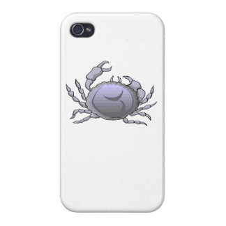 Grey Crab Covers For iPhone 4