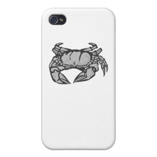 Grey Crab iPhone 4/4S Cover