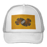 Grey Creature - Fractal Trucker Hats