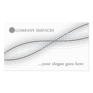 Grey crossed curved lines and circle business card templates