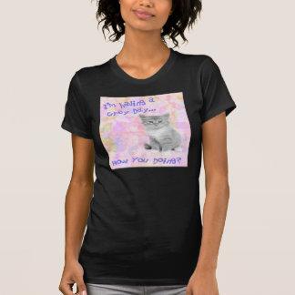 Grey Day Kitty Shirt
