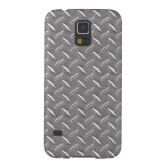 Grey Diamond Plate Case For Galaxy S5
