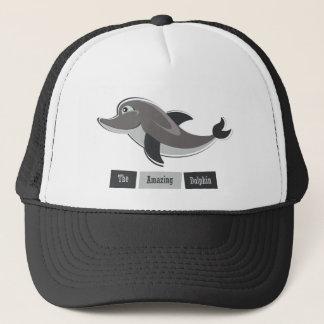Grey Dolphin Trucker Hat