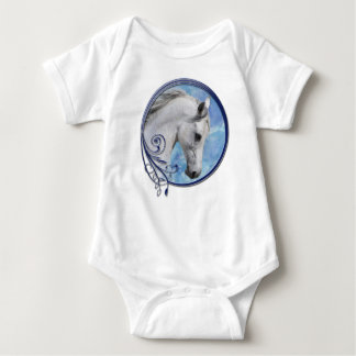 Grey Dream Baby Bodysuit