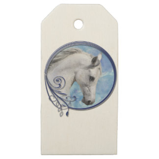 Grey Dream Wooden Gift Tags
