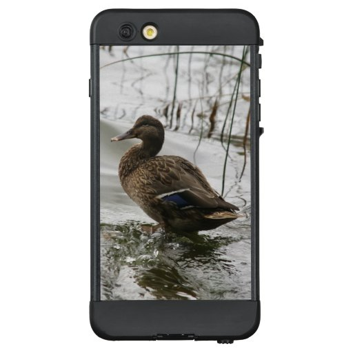 Grey duck on dark the lake LifeProof NÜÜD iPhone 6 plus case
