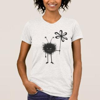 Grey Evil Flower Bug T-Shirt