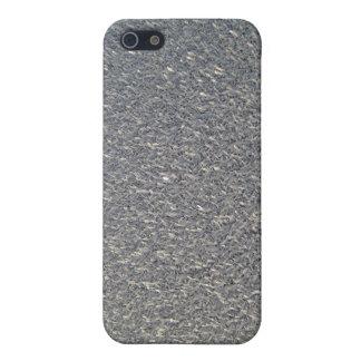 Grey fabric patterns iPhone 5 case