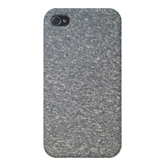 Grey fabric Texture iPhone 4 Cases