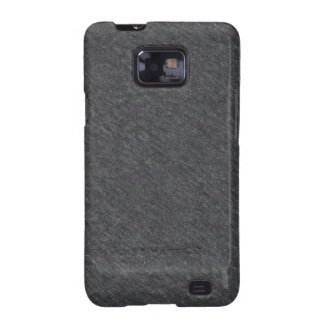 Grey Fabric Texture Samsung Galaxy S Case Samsung Galaxy SII Covers
