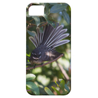 Grey Fantail iPhone 5/5S Cases