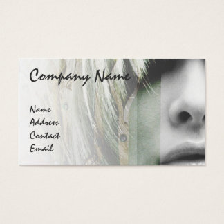 Grey fashion business card