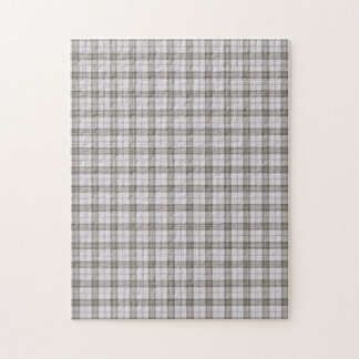 Grey fashion tartan puzzles