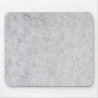 grey felt mouse pad