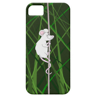 Grey field mouse in the tall grass iPhone SE/5/5s case