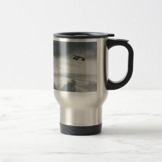 Grey Flight Travel Mug