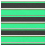 [ Thumbnail: Grey, Forest Green, Green, Black & White Colored Fabric ]