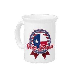 Grey Forest, TX Drink Pitcher
