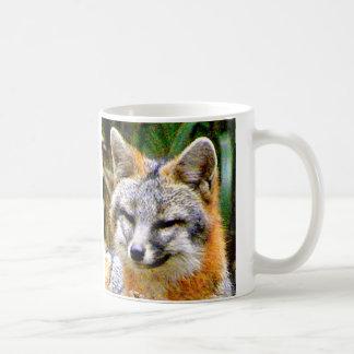 GREY FOX MUG