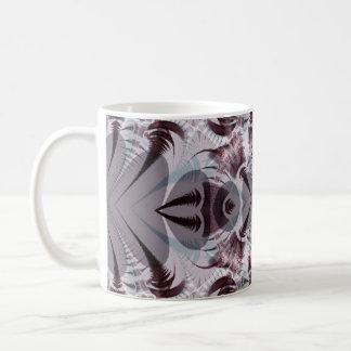 Grey Fractal Coffee Mug