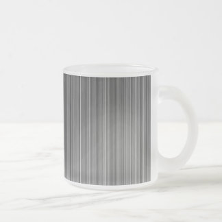 Grey Frosted Glass Coffee Mug