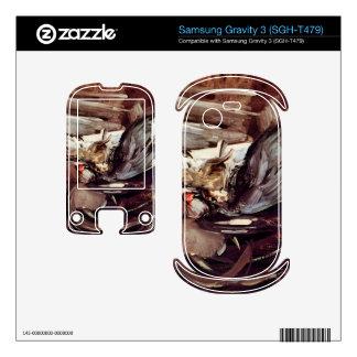 Grey game by Giovanni Boldini Samsung Gravity 3 Skin
