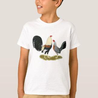 Grey Game Fowl Pair T-Shirt