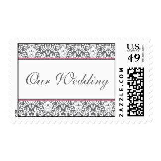 """""""Grey Garden (pink)"""" Wedding Postage"""
