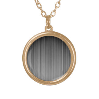 Grey Gold Plated Necklace