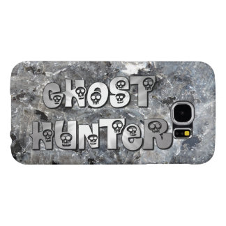 Grey Granite Skulls Ghost Hunter Samsung Galaxy S6 Case