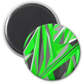 Grey-green geometry magnet