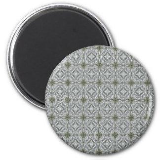 Grey-green kaleidoscopes 1 magnet