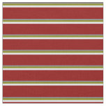 [ Thumbnail: Grey, Green, Lavender, and Dark Red Colored Lines Fabric ]