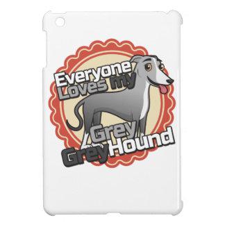 Grey Greyhound iPad Mini Cases