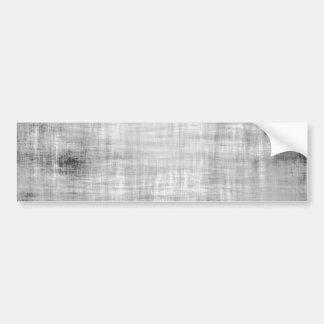 Grey Grunge Textured Bumper Sticker