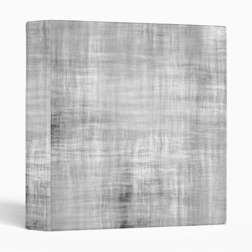Grey Grunge Textured Vinyl Binder