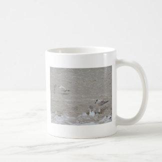 Grey Guys And Gulls Coffee Mug