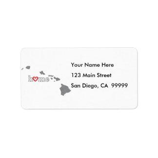 Grey HAWAII Home & Open Heart Label
