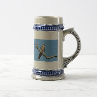 Grey Hawk Stein Coffee Mug