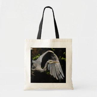 Grey heron bag