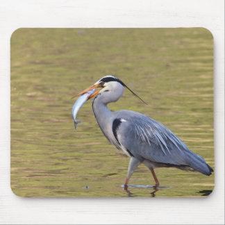 Grey Heron Mouse Pad