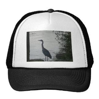 Grey Heron on Thames Mesh Hat