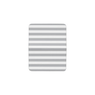 Grey Horizontal Stripes Business Card Holder