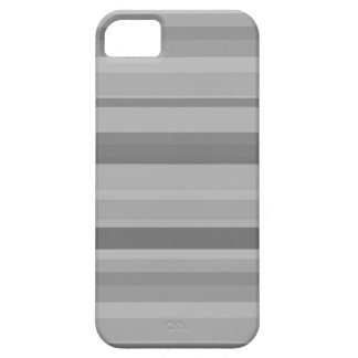 Grey horizontal stripes iPhone SE/5/5s case