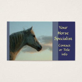 Grey Horse Business cards